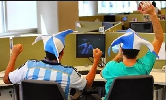 Copa Mundial en vivo por Internet