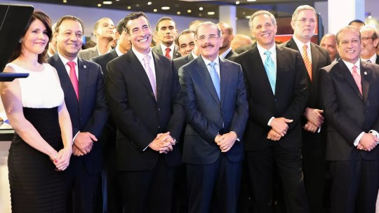 Medina con los ejecutivos de SIN