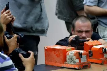 Cajas negras del vuelo MH17