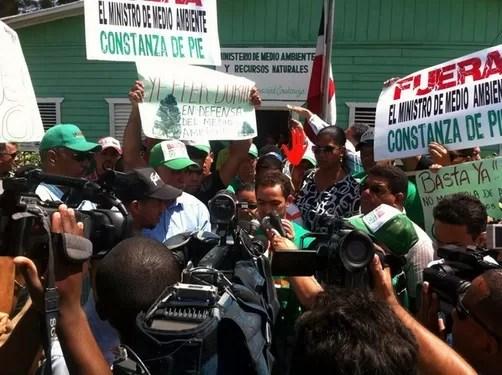 Apoyo total a lucha contra la deforestación en Constanza