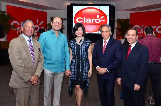 Nini Caffaro, Jose Antonio Rodriguez , Gerty Valerio, Jose Antonio Molina y Freddy Dominguez
