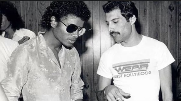 Michael Jakson Freddy Mercury