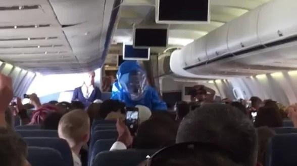 ebola avion puntacana