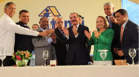 Danilo Medina con Alma Fernandez