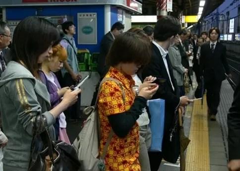 Peatones en Japon