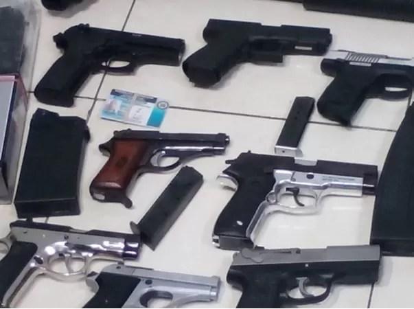 El Ministerio de Defensa se incauta 67 armas de fuego