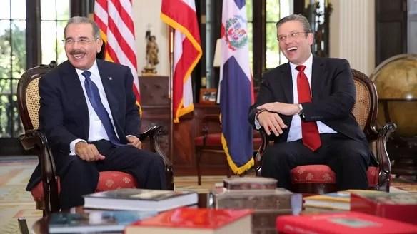 Danilo Medina en Puerto Rico