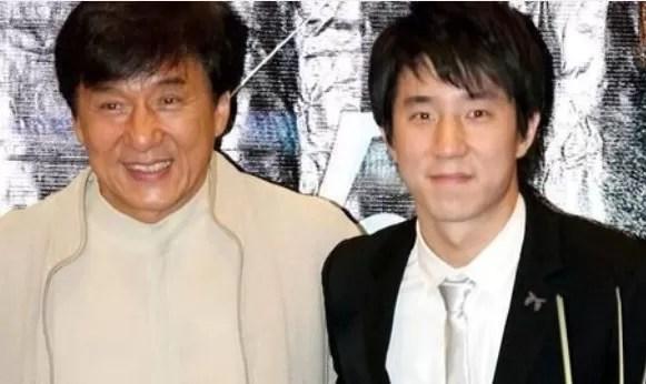 El hijo de Jackie Chan