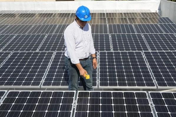 Energia solar Banco Popular