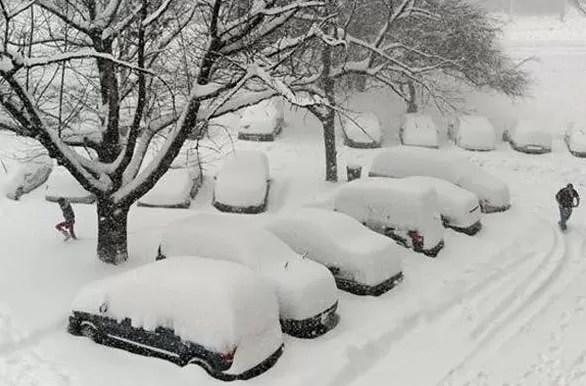 Resultado de imagen para tormenta de nieve new york