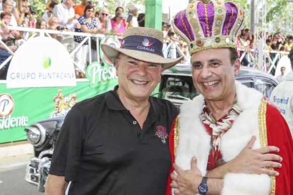 Frank Rainieri y Michael Camilo