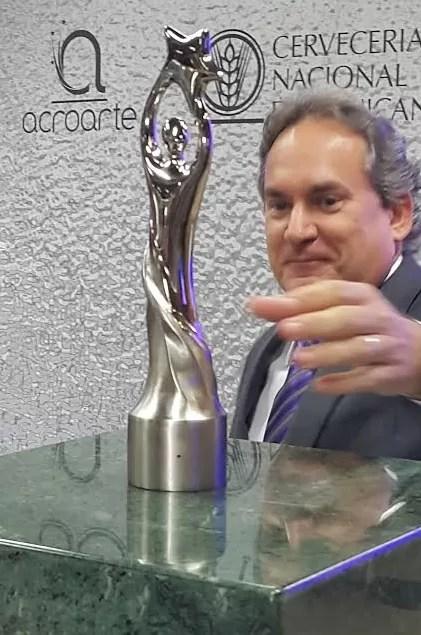 Acroarte y la Cervecería Nacional Dominicana buscan productor para Premios Soberano 2016