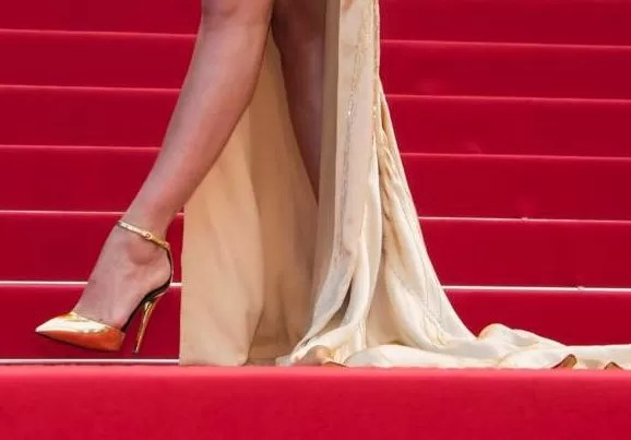 Tacones en Cannes