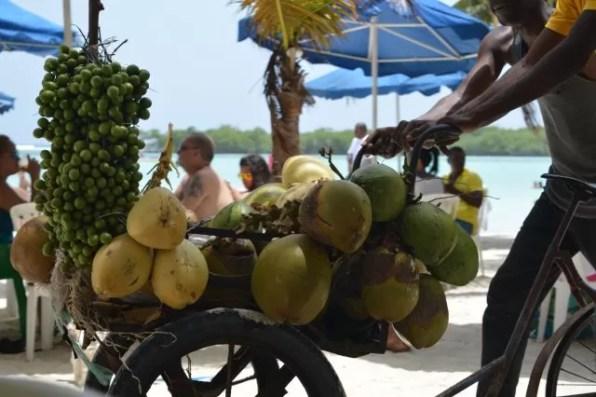 Coco de agua y Limoncillos
