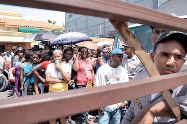 Haitianos tristes