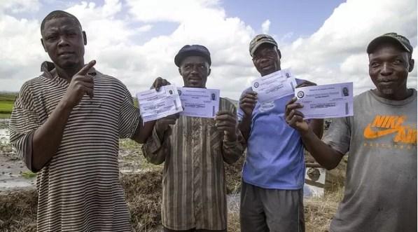 Haitianos con papeles