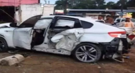 Accidente BMW