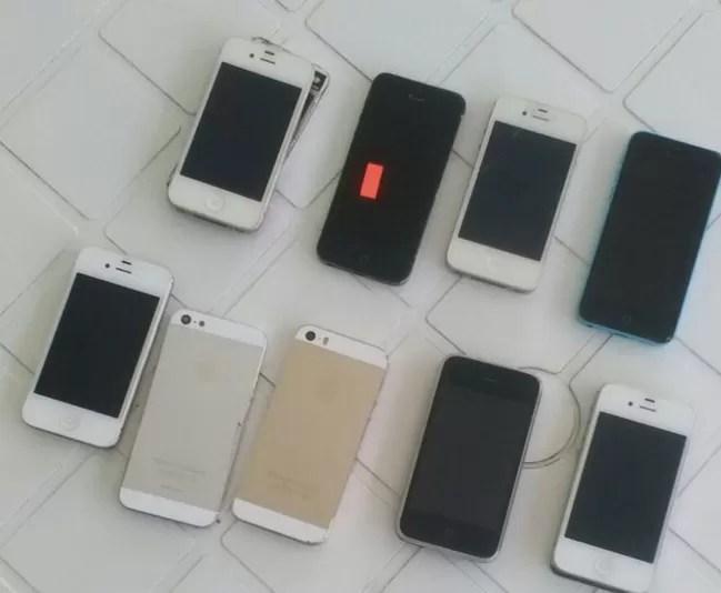 Incautan más de 900 teléfonos macos en la ciudad de Santo Domingo