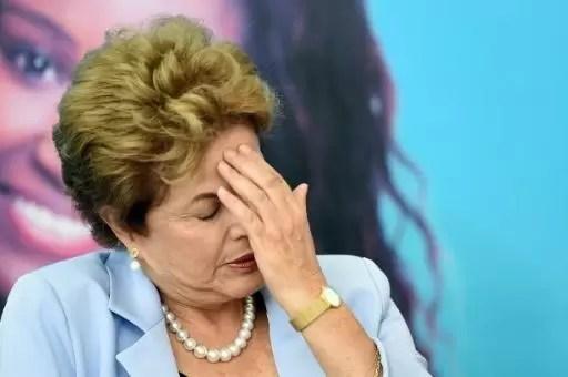La presidenta de Brasil está en la cuerda floja
