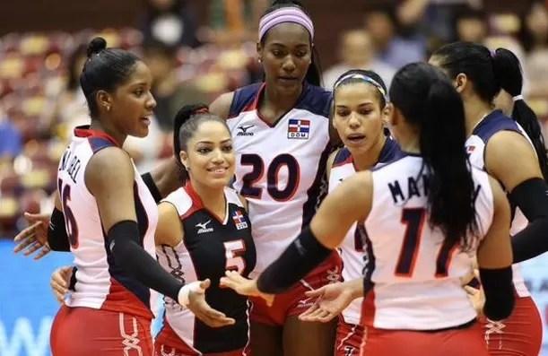 RD  vence a Perú en duelo latino en Copa del Mundo de voleibol femenino