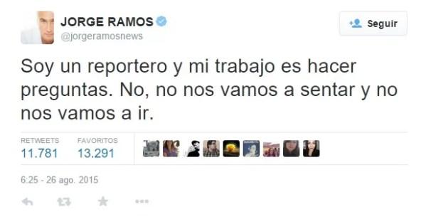 Jorge Ramos Twit