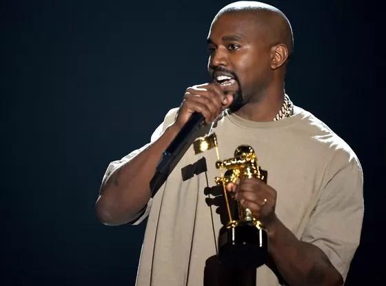 Kanye West anunció su candidatura presidencial en su largo discurso de agradecimiento en los MTV VMAs