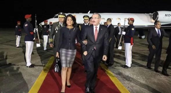 Danilo Medina y Candida