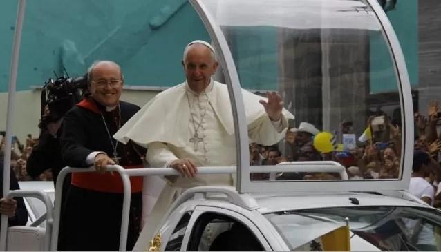El papa llama en Cuba a cuidar la familia, antídoto contra la «fragmentación»
