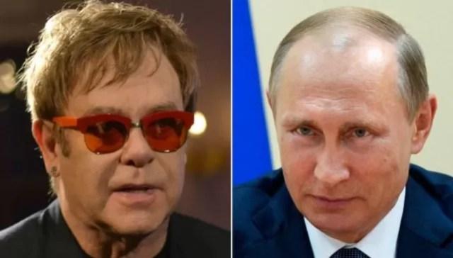 Elton y putin