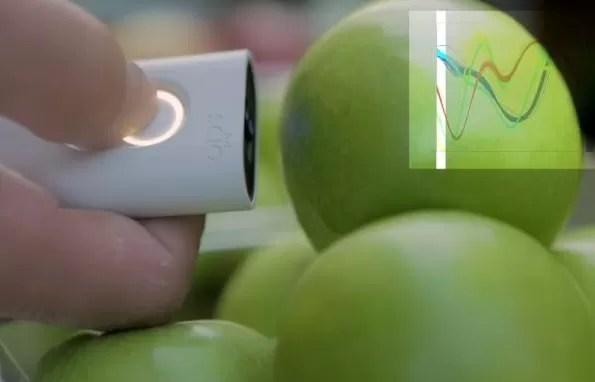 Un escáner de bolsillo para saber de qué está hecho un objeto o un alimento