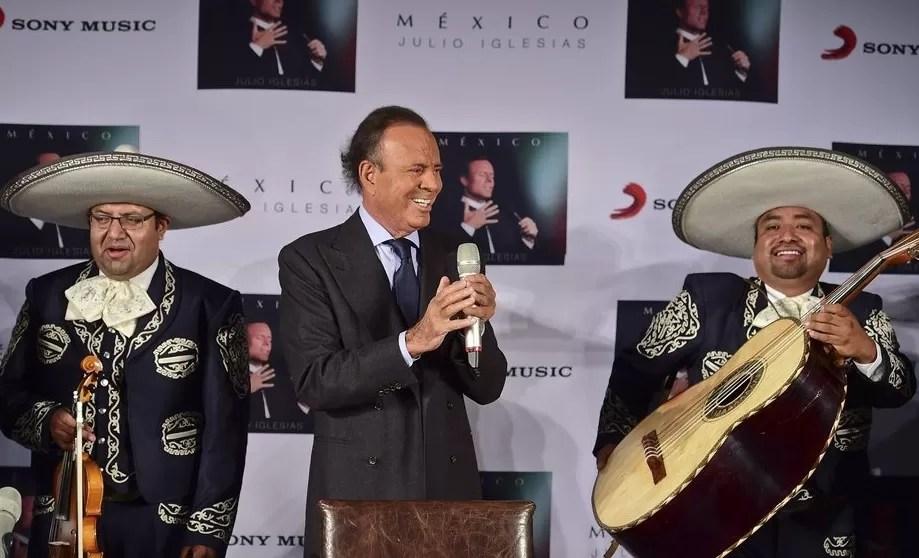 Julio Iglesias anuncia el fin de su discografía de estudio