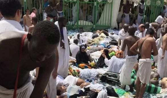 Más de 700 muertos en una estampida en la peregrinación de La Meca