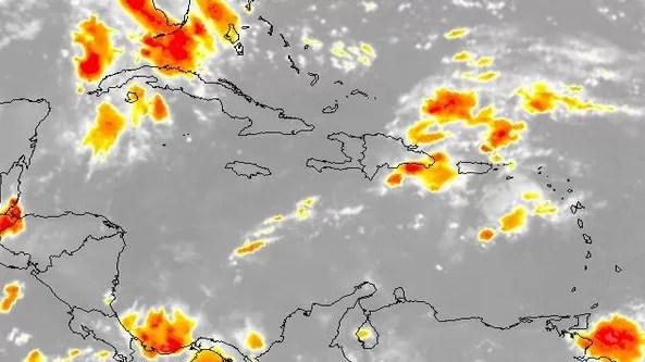 Onda tropical provocará aguaceros con tormentas eléctricas y ráfagas de viento