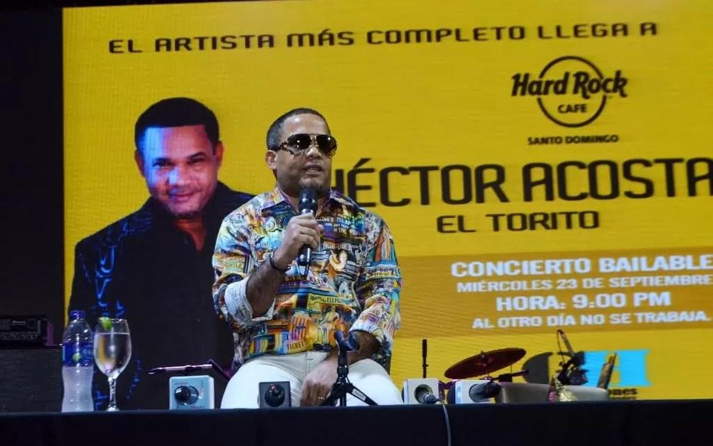 """""""El Torito"""" promete  concierto  bailable hasta que el cuerpo aguante en Hard Rock Café"""