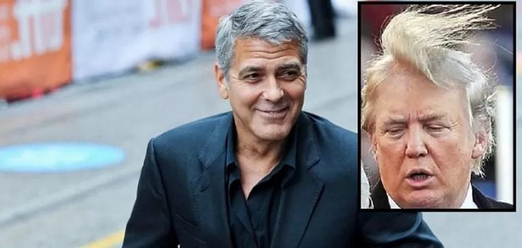George Clooney: 'Lo que dijo Donald Trump es idiota, la historia se reirá de él'