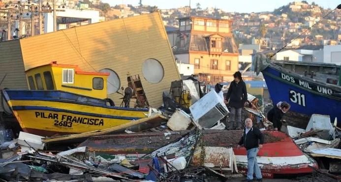 Aumentan a once los muertos por terremoto en Chile