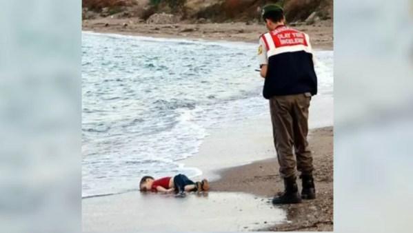 niño muerto siria guerra migrante