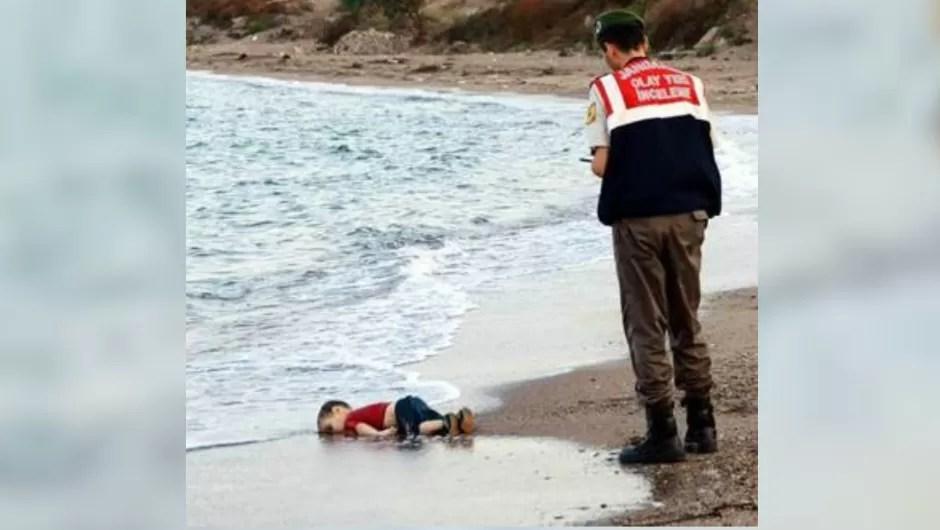 Las últimas palabras de menor sirio ahogado dan ganas de llorar