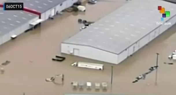 Suben a 17 muertes en sureste de EEUU por persistentes inundaciones
