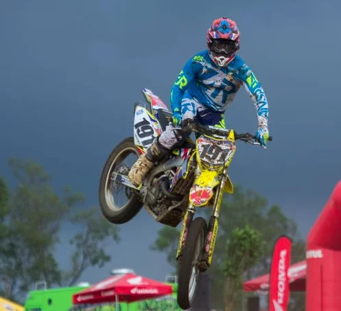 Roberto Castro, campeón de motocross, promete dar espectáculo en RD
