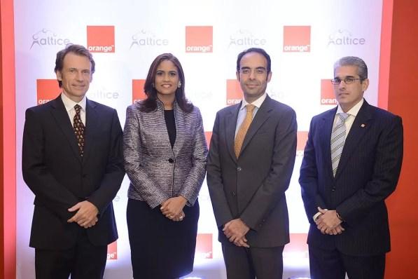Olivier Reale, Mirna Eusebio, Abdelhakim Boubazine y Julian Vittini