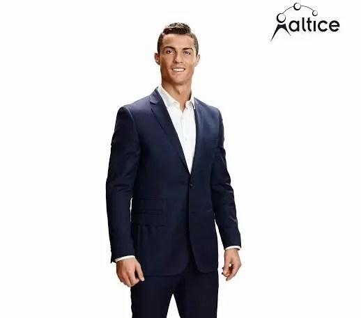 Cristiano Ronaldo CR7, Embajador de Marcas del Grupo Altice