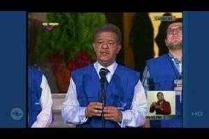 Mensaje de Leonel en elecciones de Venezuela