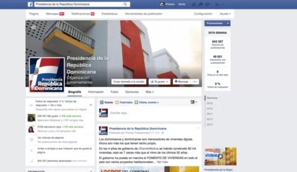 Facebook presidencia
