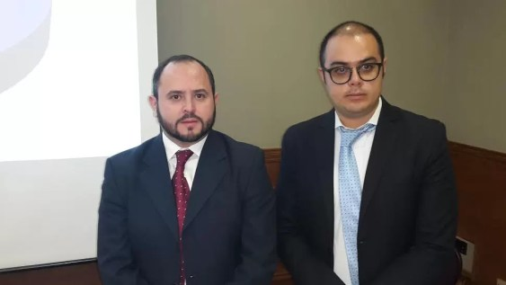 Israel Navarro y Diego Fernando Perez