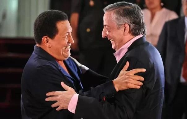 Retiran cuadros de Néstor Kirchner y Hugo Chávez en Casa de Gobierno argentina