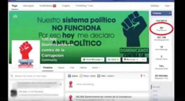 Facebook dominicanos