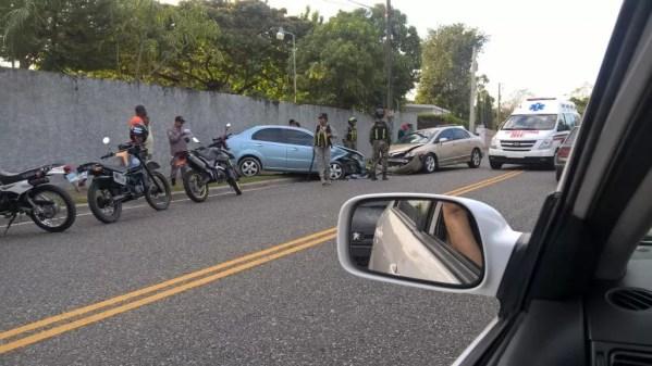 Accidente autos