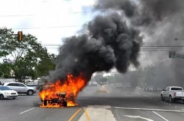 Jeepeta quemada