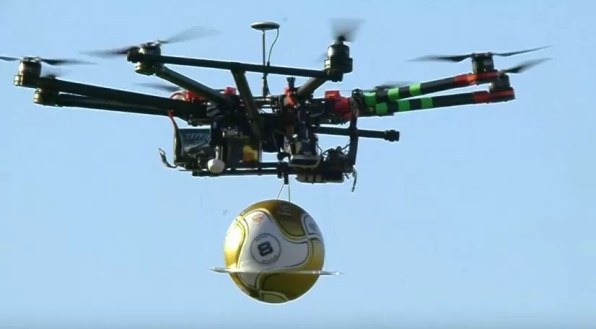 Drone pelola